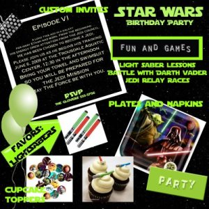 Need some game ideas for a Star Wars Birthday Party?